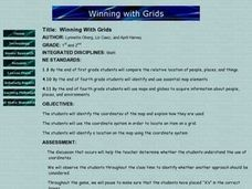 Winning With Grids Lesson Plan