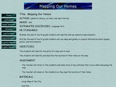 Mapping Our Homes Lesson Plan
