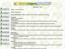 Citizienship Trees Lesson Plan