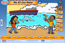 We All Use Water Interactive