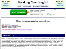 Breaking News English Worksheet