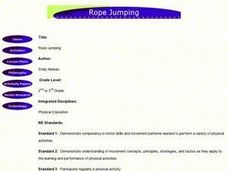 Rope Jumping Lesson Plan