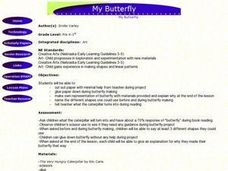 My Butterfly Lesson Plan