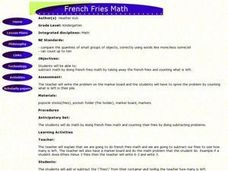 French Fries Math Lesson Plan