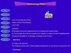 Technology Recycling Lesson Plan