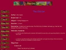 The Old Cat Lesson Plan