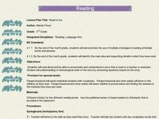 Read to Me Lesson Plan