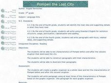 Pompeii the Lost City Lesson Plan