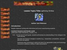 Lightning Strikes Lesson Plan