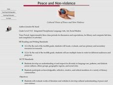 Cultural Views of Peace and Non-Violence Lesson Plan