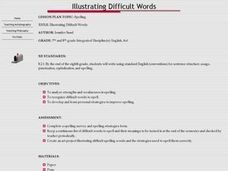 Illustrating Difficult Words Lesson Plan