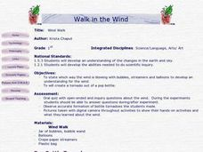 Walk in the Wind Lesson Plan