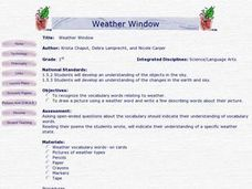 Weather Window Lesson Plan