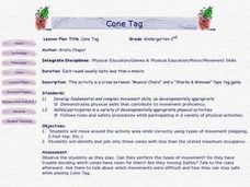 Cone Tag Lesson Plan