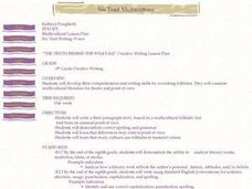 Six Trait Multiculture Writing Lesson Plan