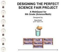 Designing the Perfect Science Fair Project Webquest Lesson Plan