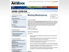 Missing Masterpieces Lesson Plan