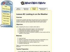 Looking in on the Weather Lesson Plan