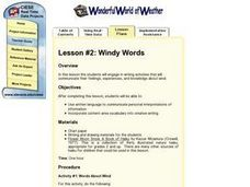 Windy Words Lesson Plan