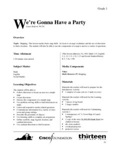 We're Gonna Have A Party Lesson Plan