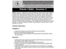Whole Child: Parenting Skills Lesson Plan