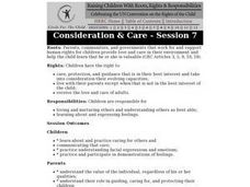 Consideration & Care Lesson Plan