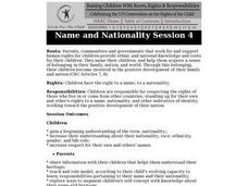 Name and Nationality: Children's Rights Lesson Plan