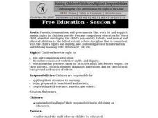 Free Education: Children's Rights Lesson Plan