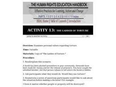 The Ladder of Torture Lesson Plan