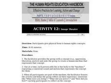 Human Rights Education Handbook: Image Theater Lesson Plan