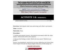 Mirroring: Human Rights Lesson Plan