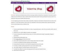 Valentine Shop Lesson Plan