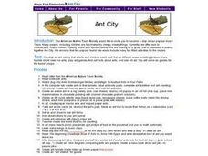 Ant City Lesson Plan