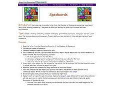 Spedwards Lesson Plan