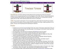 Timeless Totems Lesson Plan
