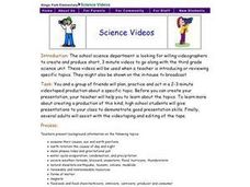 Science Videos Lesson Plan