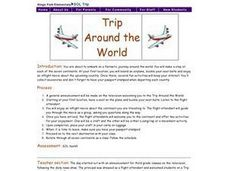 Trip Around the World Lesson Plan