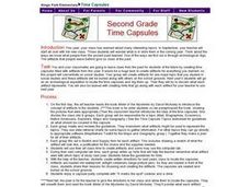 Second Grade Time Capsules Lesson Plan