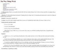 The Way Things Work Lesson Plan