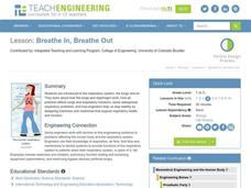 Breathe In, Breathe Out Lesson Plan