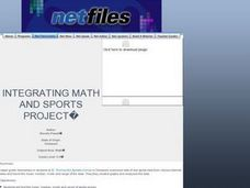 Integrating Math and Sports Project Lesson Plan