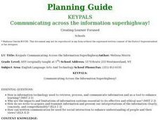 Keypals-Communicating Across the Information Superhighway Lesson Plan