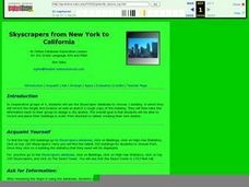 Skyscrapers from New York to California Lesson Plan