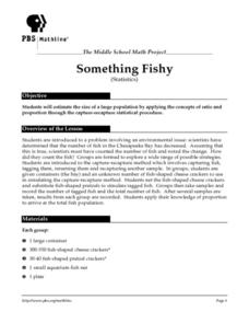 Something Fishy (Statistics) Lesson Plan