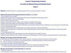 Technology: Researching Inventions Lesson Plan
