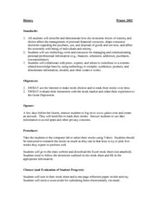 Economic Forces Lesson Plan