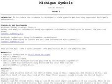 Michigan Symbols Lesson Plan