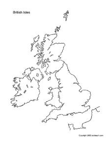 British Isles Worksheet
