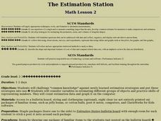 The Estimation Station Lesson Plan
