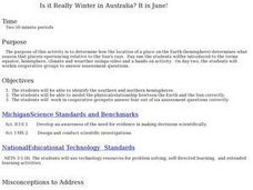 Is it Really Winter in Australia? It is June! Lesson Plan
